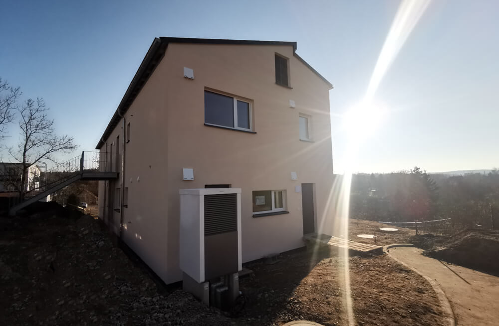 Neubau Mehrfamilienhaus Holzbauweise Stadtroda